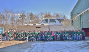 Sabre Team with 100th Sabre 48